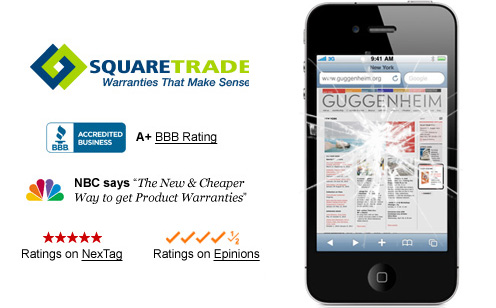 iphone 4 squaretrade warranty
