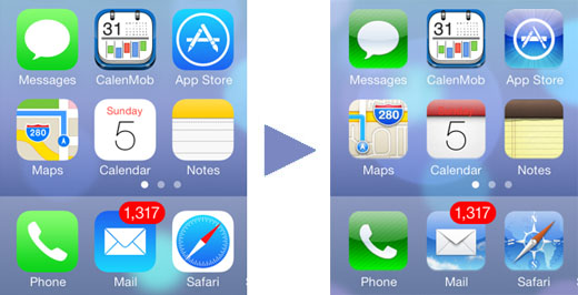 How to Revert Back to iOS 6 Icons on iOS 7 | The iPhone FAQ