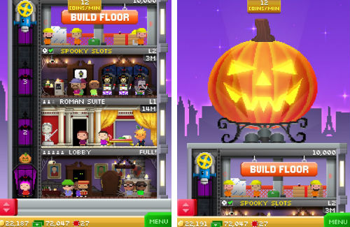Tiny Tower Halloween