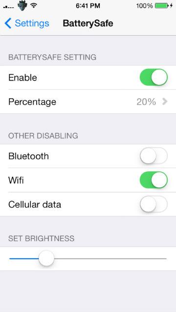 New Jailbreak Tweaks For Your Iphones Battery Batterysafe