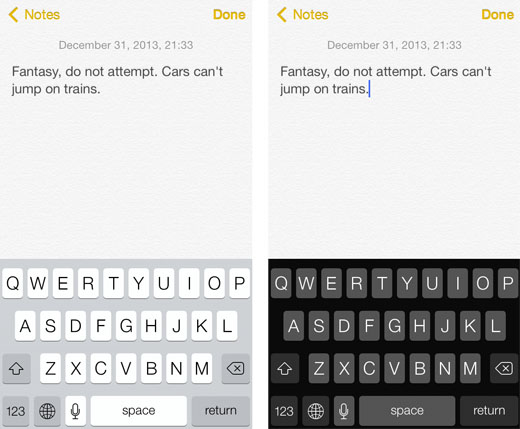 black keyboard tweak