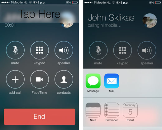 how to call and text simultaneously on iphone6s