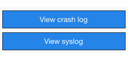 log iOS crashes 1