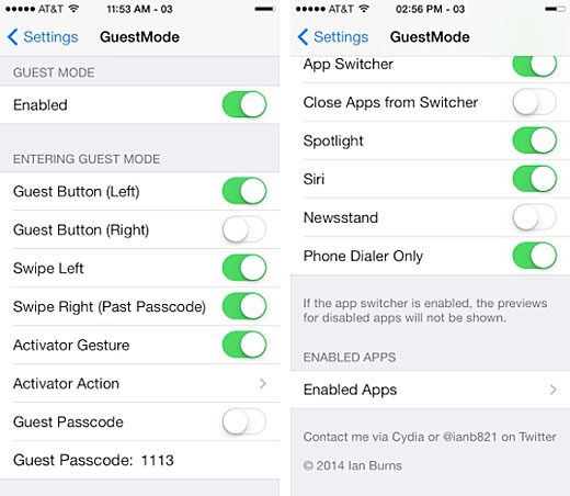 Add Guest Mode to the iPhone on iOS 7 | The iPhone FAQ