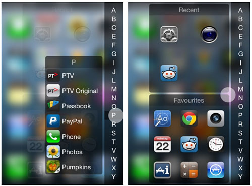 InstaLauncher tweak Cydia iOS