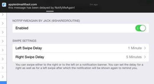 iOS 7 jailbreak notify repeat