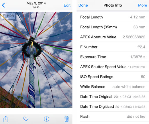 how to add time to photo metadata