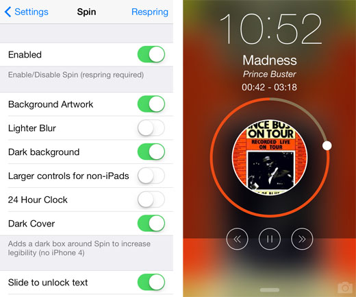 Add Style to Music on the iOS Lock Screen | The iPhone FAQ