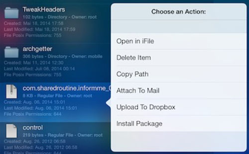 iOS 7 jailbreak browse filesystem2