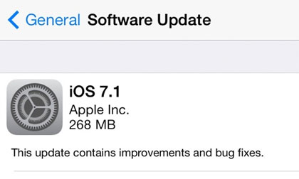 iOS 7.1 update jailbreak