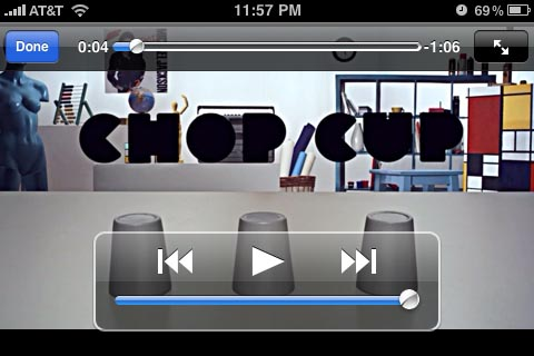 apple iphone vimeo html 5