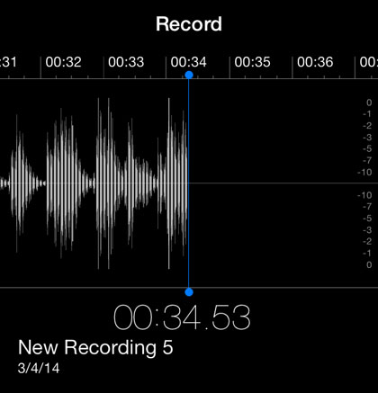 how to record audio on iphone what format are voice memo files on the iphone the 18964