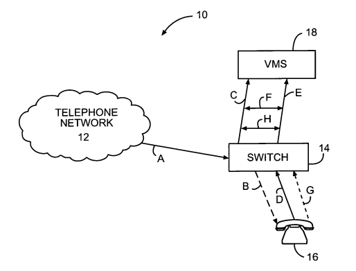 Apple patent for live voicemail screening