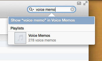how to find voice memos on itunes