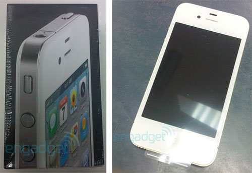 white iPhone 4 release date april 27 package