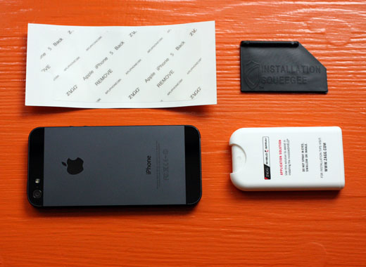 ZAGG invisibleSHIELD iPhone 5 photo contents