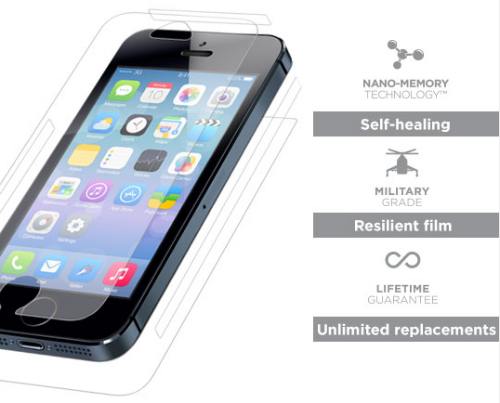 invisibleSHIELD iPhone 5s