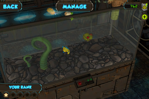 Game review zombie fish tank iphone and ipad the for Fish tank game